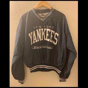 Vintage 1990 New York Yankees Windbreaker Pullover